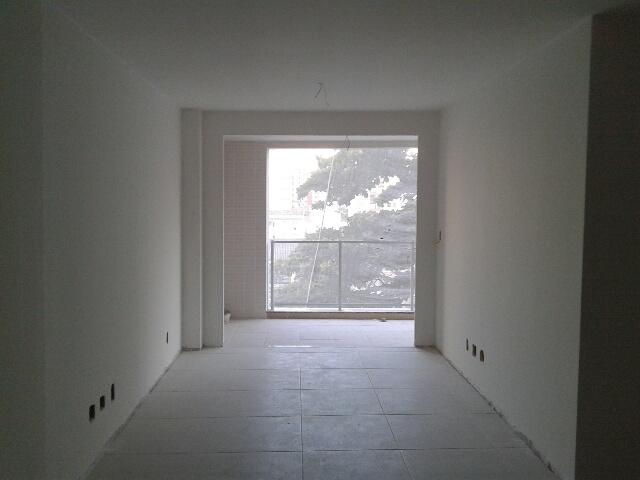 Pintura e gradil dos apartamentos