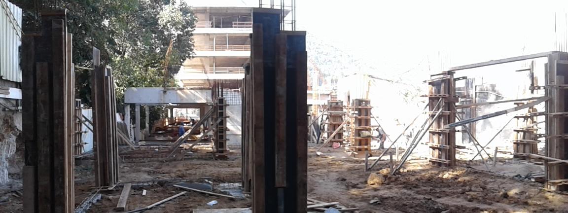 Forma e armação dos pilares Térreo BL1 Jul/16