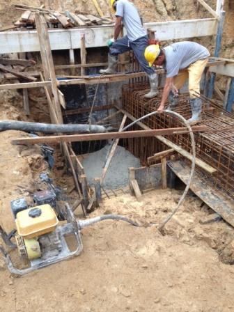 Concretagem - Fundação - Blocos 1 e 2 - Maio/2015