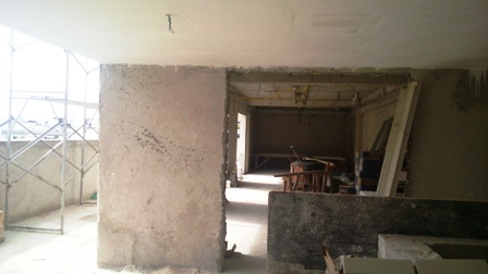 Rebaixo de Gesso - Cobertura - Novembro/2014