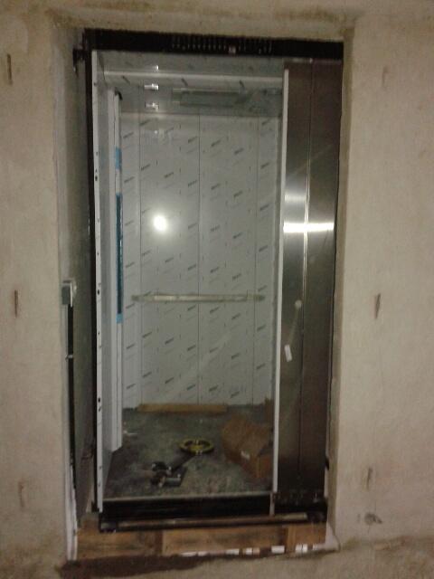 Montagem dos elevadores