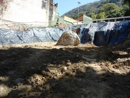 Escavação - Agosto/2014