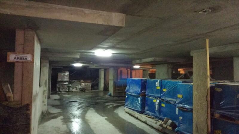 Regularização de teto no Semi enterrado 20/01/2016
