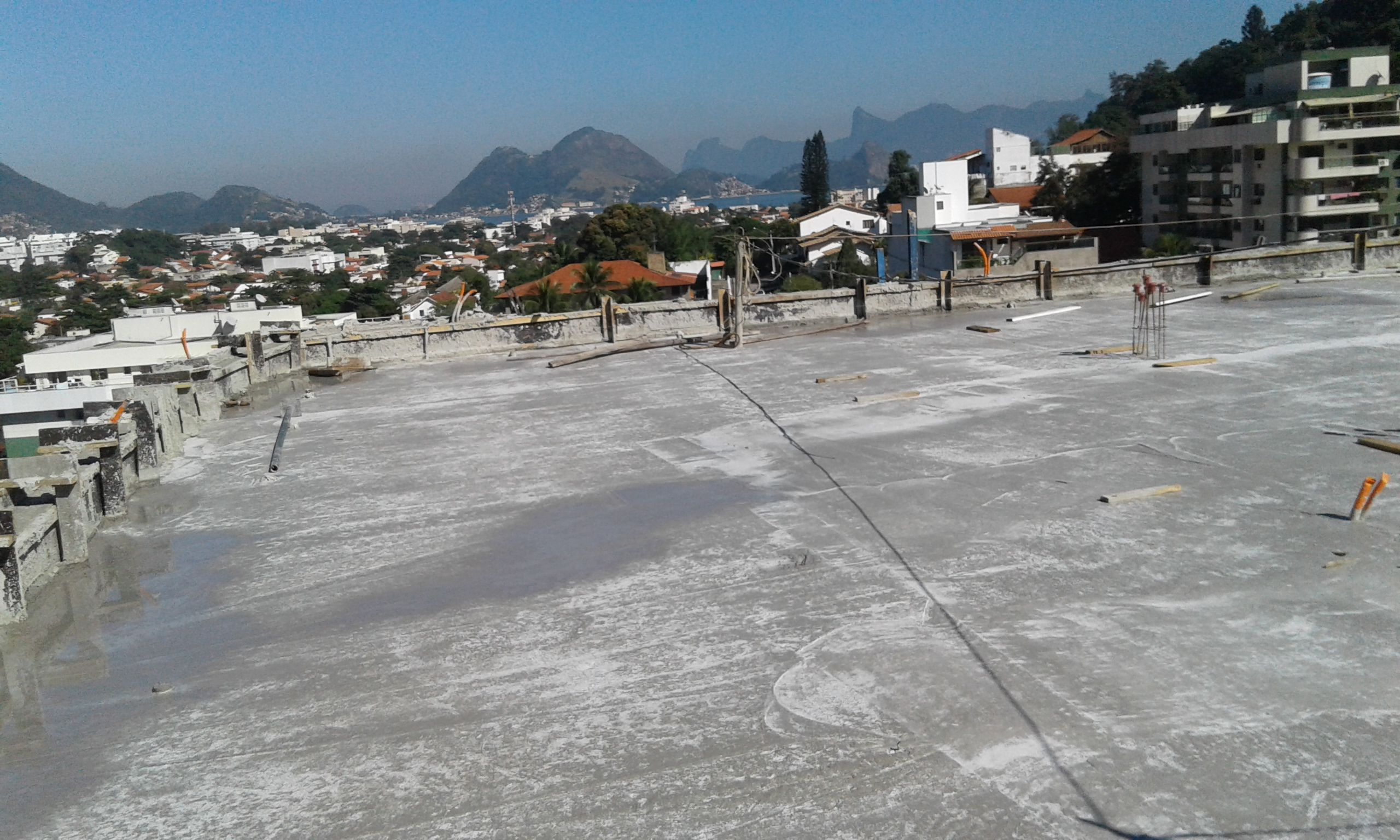 Concretagem Teto do 4º pavtº Tipo BL2 - Jun/16