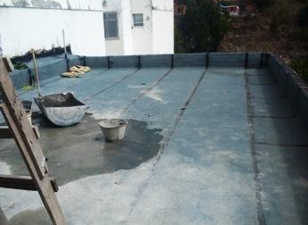 Impermeabilização - Casa de Máquinas - Novembro/2014