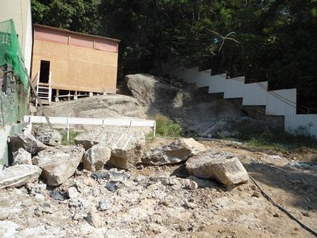 Desmonte de Rocha - Janeiro/2015